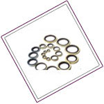 Hastelloy C276 bond-sealing-washers