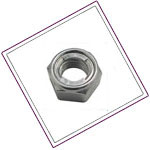 Stainless Steel XM19 Lock Nuts