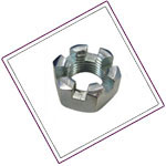 Stainless Steel XM19 Slotted Nuts