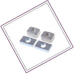 Stainless Steel XM19 Square Nuts