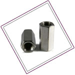 Stainless Steel 321 Coupler Nuts