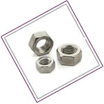 Hastelloy C276 Heavy Hex Nuts