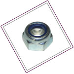 Stainless Steel 321 Nylon Insert Nuts