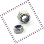 Stainless Steel 321 Self Locking Nuts