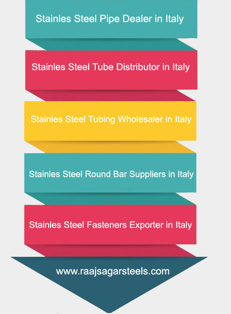 Stainless Steel Pipe,Tube,Tubing,Round Bar Supplier in Italy