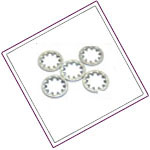 Stainless Steel star-washers
