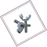 Stainless Steel XM19 Wing Nuts
